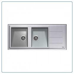 سینک ظرفشویی آریستون مدل SK 11610 W 2 X