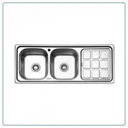 سینک ظرفشویی توکار بورنیک  مدل 5008
