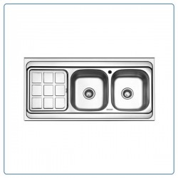 سینک ظرفشویی روکار بورنیک مدل 5005