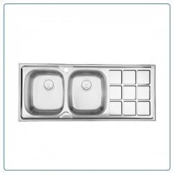 سینک ظرفشویی توکار درسا DORSA  مدل DS116-L