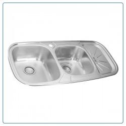 سینک ظرفشویی توکار درسا DORSA مدل DS125-L