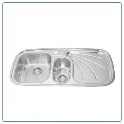 سینک ظرفشویی توکار درسا dorsa مدل DS111-L