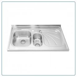 سینک ظرفشویی روکار درسا مدل DS331-L