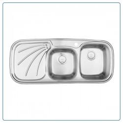 سینک ظرفشویی درسا توکار مدل DS110-R