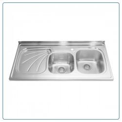 سینک ظرفشویی روکار درسا مدل DS330-R