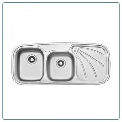 سینک ظرفشویی توکار لتو مدل TX 6