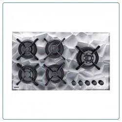 اجاق گاز صفحه ای درخشان شیشه ای سه بعدی مدل G629